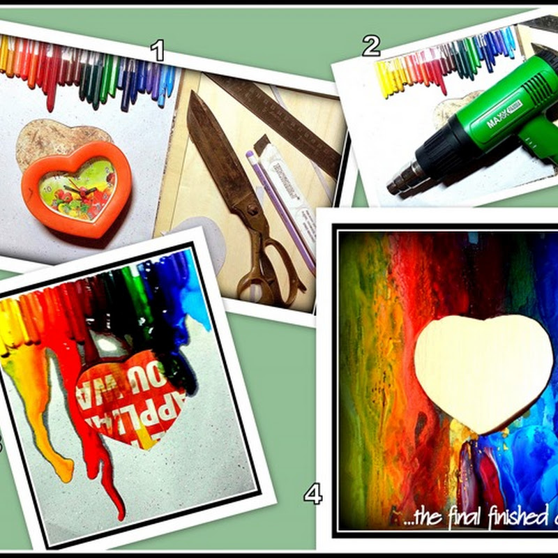 The Melted Crayons Project #1