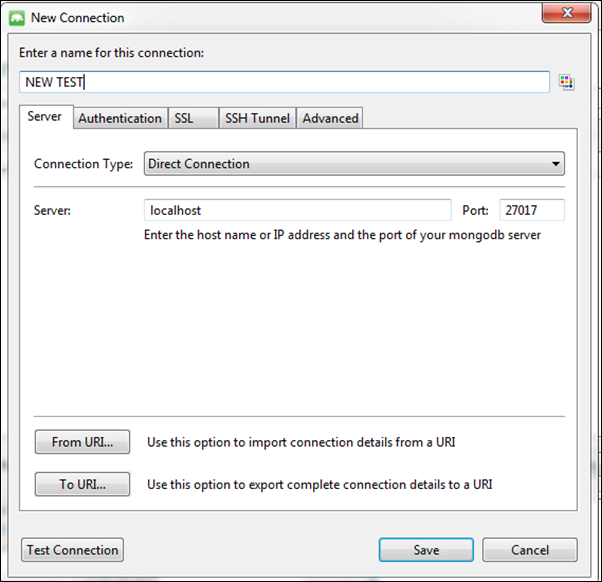 Studio 3T for MongoDB - DATA TUTORS