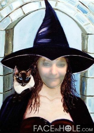 Witch And A Cat, Mystic Cats