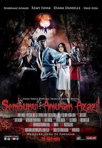 Sembunyi Amukan Azazil - Qũy dữ lộng hành