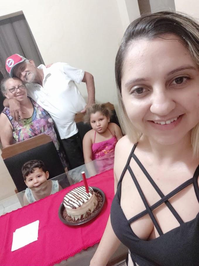 Leônida, filha de homem atingido por bomba junina em Tabira fala ao blog sobre o estado do pai e pede justiça; confira!