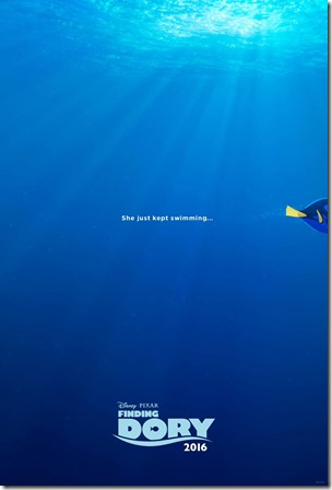 Finding Dory - primo poster