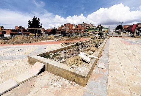 El Alto: La delincuencia en la plaza Germán Busch alarma a los vecinos de Alto Lima