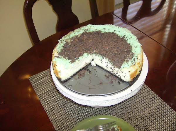 Chocolate Irish Cream Cheese Cake