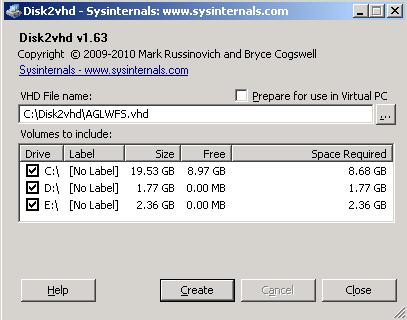 Terry L@u's blog: Using Disk2vhd