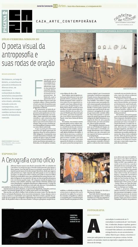 Página da Caza - 04 de Janeiro de 2013