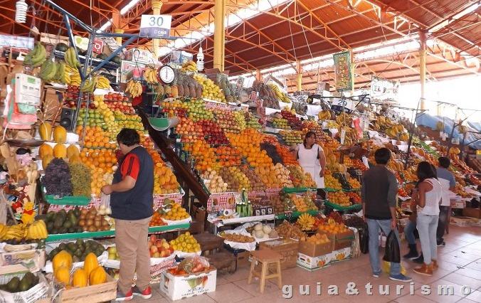 Mercado San Camilo em Arequipa