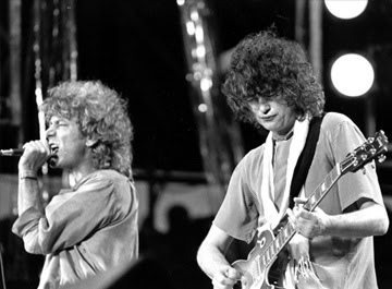 Led Zeppelin - Robert Plant e Jimmy Page