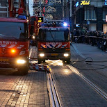 firetrucks in Amsterdam, Noord Holland, Netherlands
