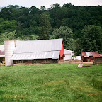 Out buildings on the William Gleaves farm