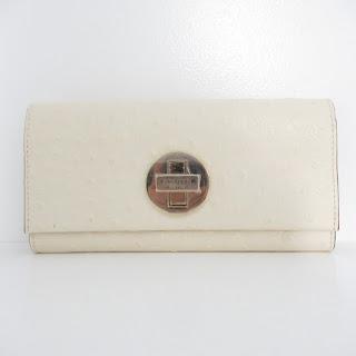 Kate Spade Embossed Ostrich Wallet