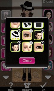 Click to Enlarge - Style Me Girl Level 45 - The Godfather - Jane - Closet