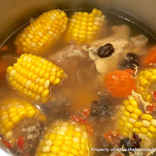 Sweet Corn Pork Rib Soup