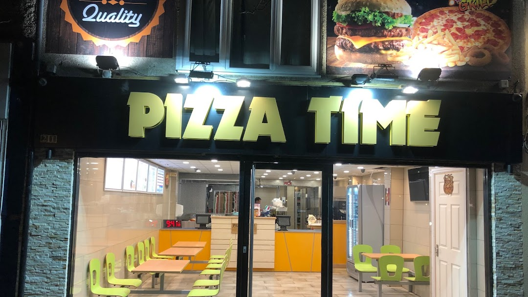 Pizza Time Grill Pizza Takeaway