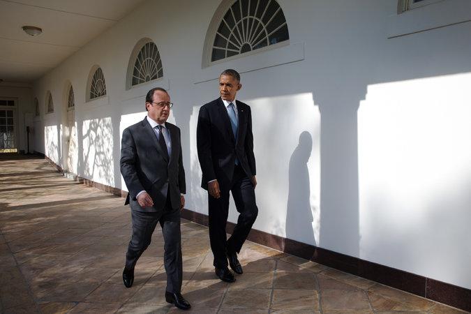Obama censors video of French president naming 'Islamist terrorism'