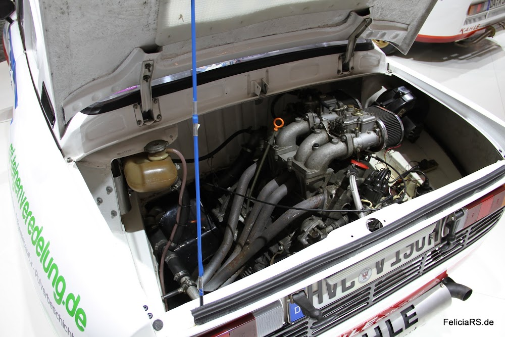 Skoda 130RS Motor