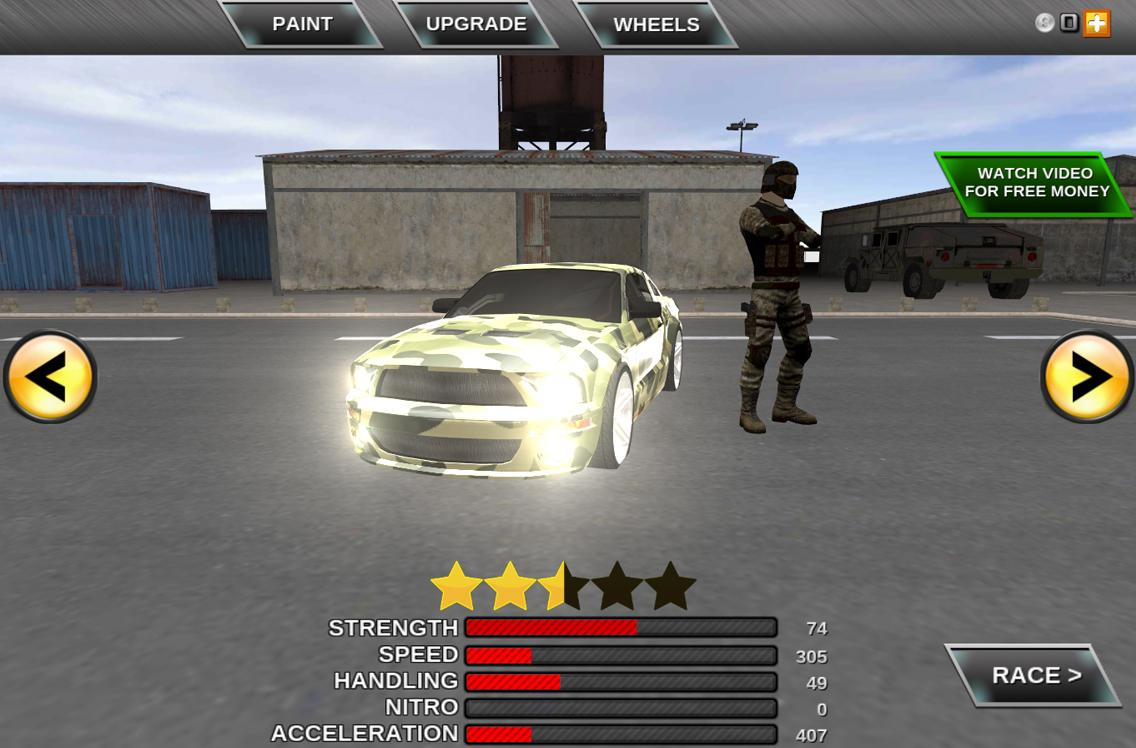 Army Extreme Car Driving Games