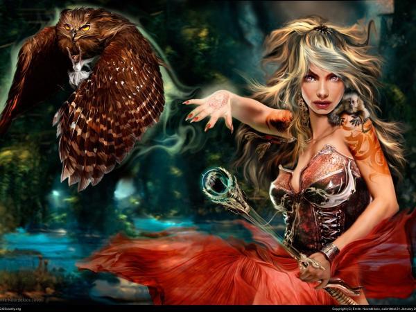 Hot Angel Woman, Magic Beauties 4