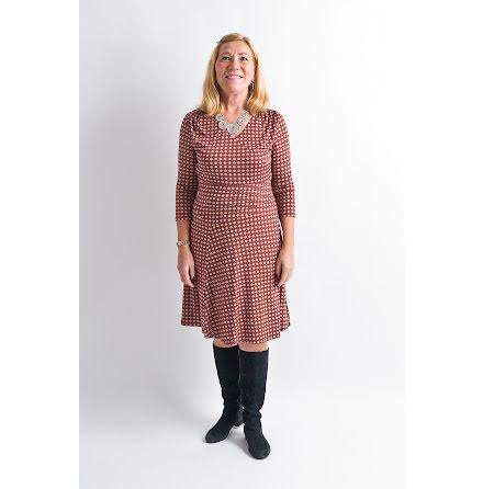 Ilse Jacobsen knee length dress brownie NICE115EJ-225