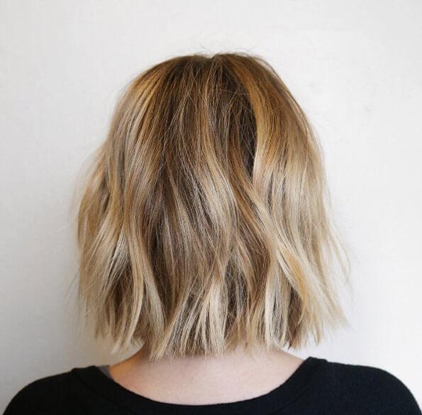 Balayage Short Hair Blonde 2018 5