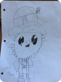 Nolan's St. Patrick's Day Drawings