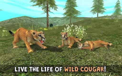 Wild Cougar Sim 3D apkpoly screenshots 6