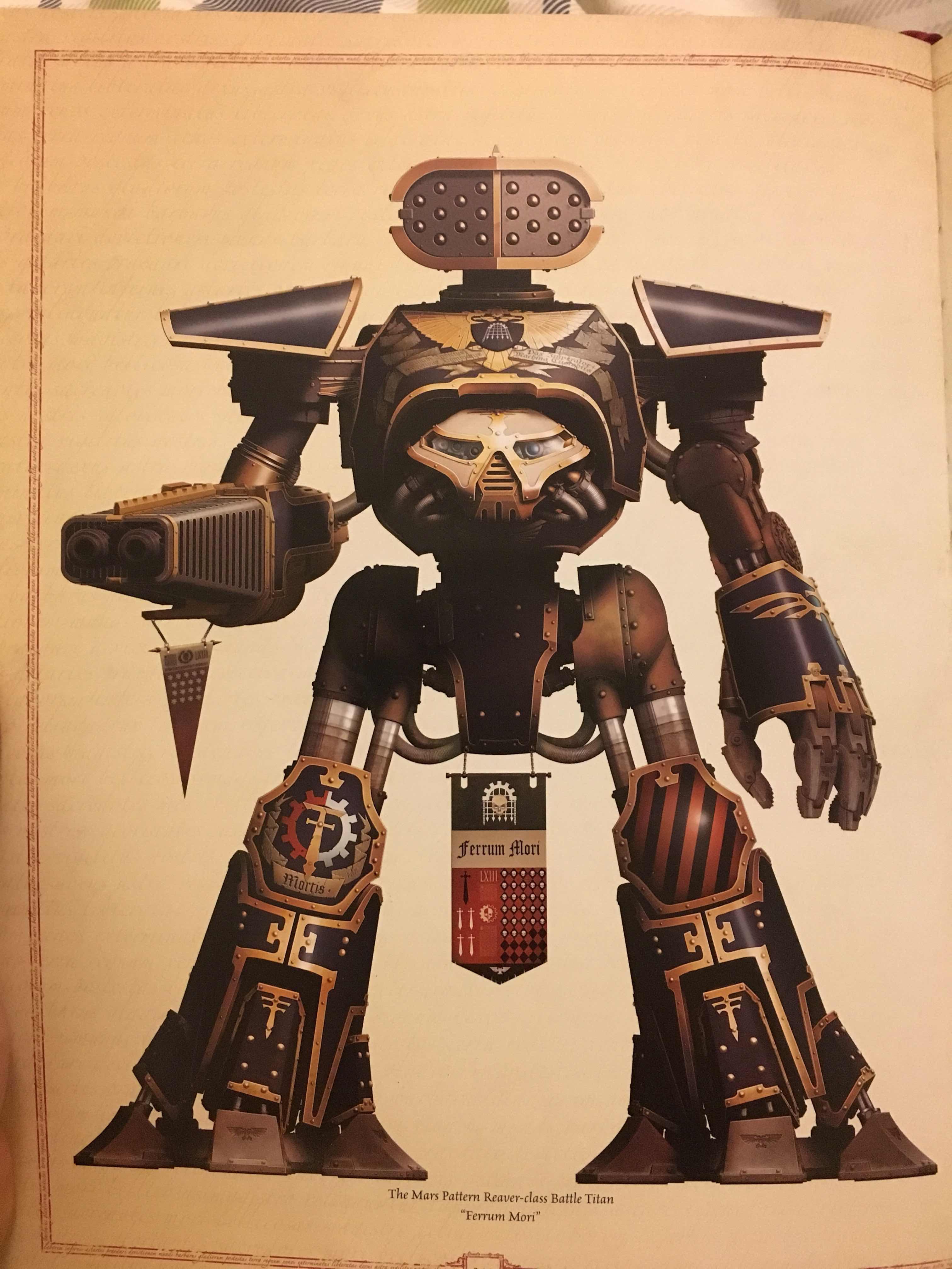 Battle Bunnies: Adeptus Titanicus - Maniple and Engine names