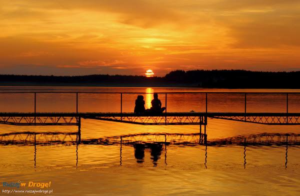 Jezioro Wielewskie na Kaszubach