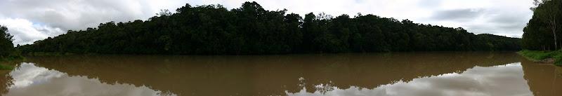 Barron River panorama