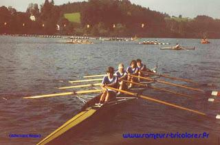 1984-La saison de l'équipe de France d'aviron
