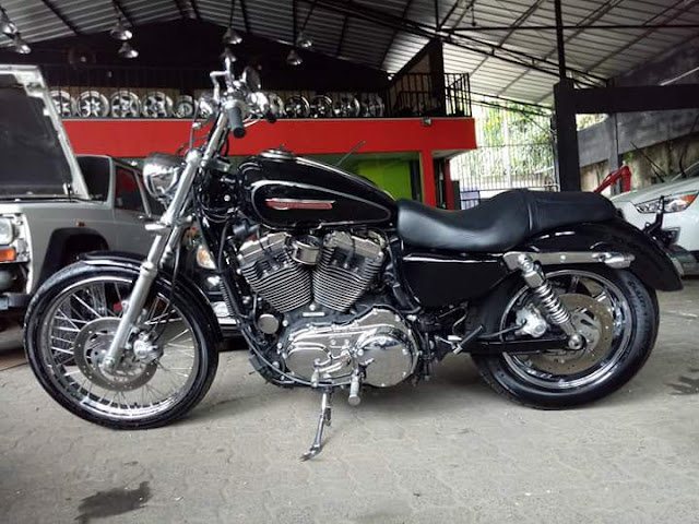 LAPAK MOGE BEKAS : Jual Harley XL1200 - JAKARTA