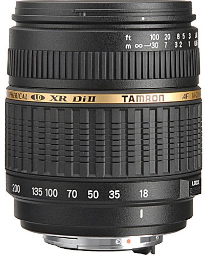Tamron 18-200mm f/3.5-6.3 XR Di-II Macro Lens for Pentax