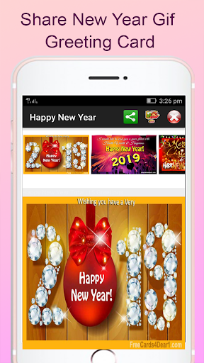 Happy New Year 2019 Greetings 9.0 screenshots 12