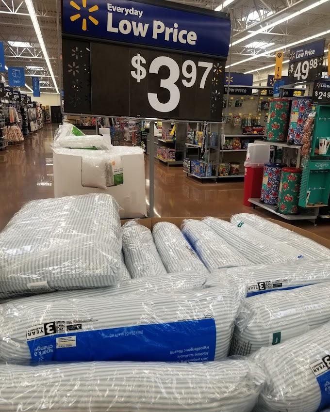 Walmart  Cheap Pillows