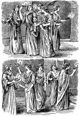 Parabola de las diez virgenes: Explicacion, enseñanza