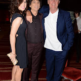 WWW.ENTSIMAGES.COM -   Ronnie Wood and Chris Tyrant   at Arqiva Commercial Radio Awards at The Westminster Bridge Park Plaza Hotel London July 3rd 2013                                                  Photo Mobis Photos/OIC 0203 174 1069