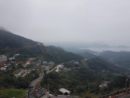 The nine dragon turns road at Jiufen Taiwan