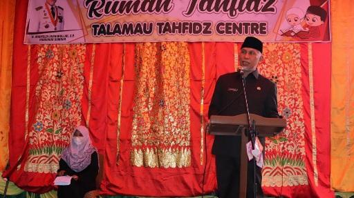 Gubernur Sumbar Apresiasi Program Satu Tahfiz Center Satu Kecamatan di Pasbar