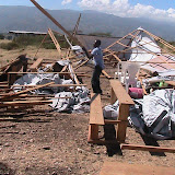 Images of Wongglere's school after the storm