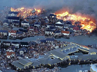 Tsunami Hits Japan After Massive Quake