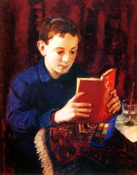Igor Grabar - Portrait of the Painter's Son. 1935