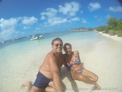 Vita da spiaggia a Green Island - Non Such Bay - Antigua