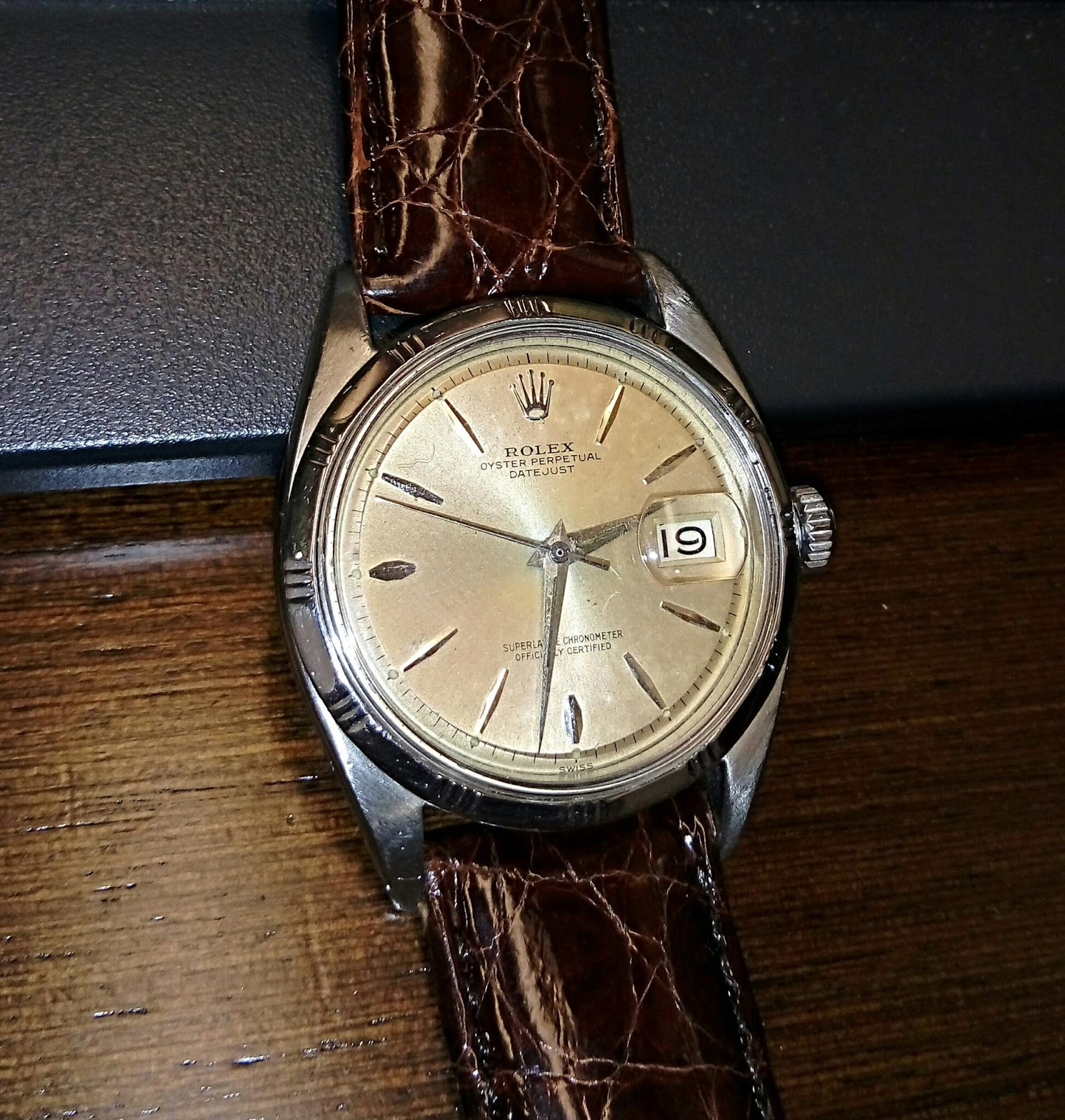 Vintage Watch Experience 古董手錶 Rolex 1603 Bamboo Bezel Datejust