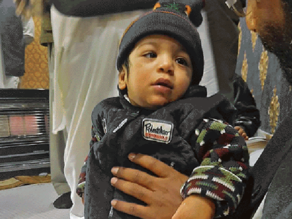 Abdullah Return after one year of his birth