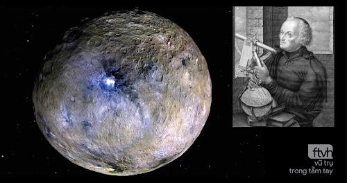 Ngày này năm xưa: Giuseppe Piazzi phát hiện ra hành tinh lùn Ceres