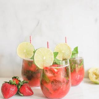 Roasted Strawberry Mojito