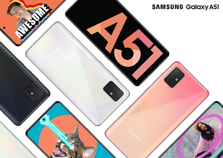 Samsung Galaxy A51 ได้รับอัพเดท OneUI 2.1 และความปลอดภัยประจำเดือน เมษายน 2020