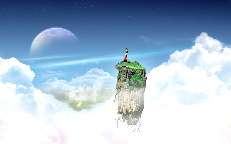 Isle In Clouds Of Paradise, Magical Landscapes 2