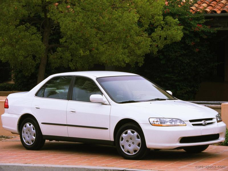 1998 honda accord sedan specifications pictures prices. Black Bedroom Furniture Sets. Home Design Ideas