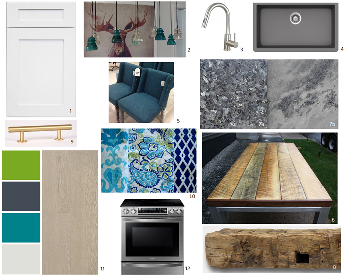 kitchen mood board with numbers revised oct20-17